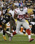 Giants Steelers Football - Victor Cruz, Troy Polamalu, William Gay.  Pre-season 2013