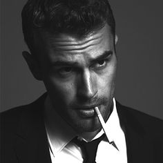 I don't normally encourage or go after guys who smoke but... GAH DAMN THEO!! He looks so good
