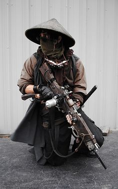 Desert steampunk pirate