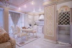 Элегантная классика, Design Studio Ideas, Кухня, Дизайн интерьеров Formo.ua