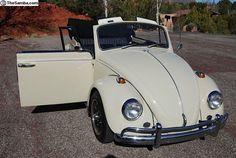 Volkswagen Beetle (bug) convertible 1967