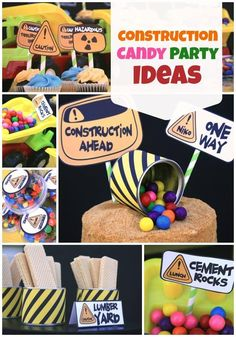 What a fun take on a construction themed birthday party! When Kate from Events…