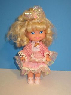 Vintage 1988 Mattel Cherry Merry Muffin Doll w/ Orig. Outfit ~ Still Has Scent ~ #Mattel #Dolls