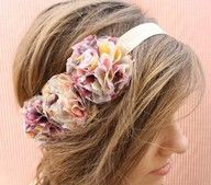 Very pretty headband, and would be veryeasyto make.