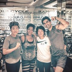 Mama/Dr. Jeong  finally did her 1st-ever @soulcycle ride tonight in #SoHo  |  A tremendous #gratitude goes to my  coach @akiniko and the -team leader @lulufrmnola for making one of the most #magical experiences happen this #summer  |  Last but not least so much #pride and #respect for my mom who goes anywhere - from New York Seoul Beijing Shanghai to Istanbul -  to contribute her talent & skills as a #physician for people with medical needs - regardless of their nationality ethnicity…
