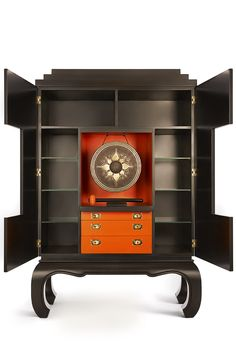 This Asian inspired drinks cabinet will get your party started with a BANG!...The GONG BAR by PIECE-UK...www.piece-uk.com