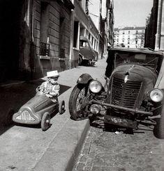 Robert Doisneau 1956 Bolides, Paris