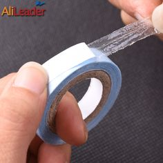 Last 8 Weeks Skin Weft Tapes Wig Glue For Tape Hair Extensions Strong Double Sided Tape Super Lace Front Glue 0.8Cm/1.9Cm/2.54Cm
