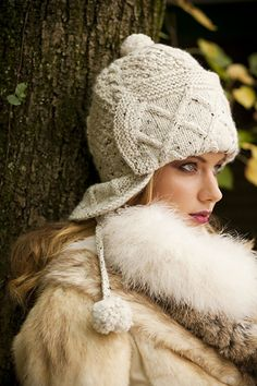 "Called ""Diamond Cable Aviator Hat"" in The Ultimate Hat Book."