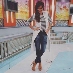 Cristina Ferreira, Capri Pants, Fashion, Moda, Capri Trousers, Fashion Styles, Fashion Illustrations