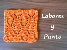 Aprende a tejer el punto herradura en dos agujas Lace Knitting Stitches, Baby Knitting Patterns, Baby Patterns, Knit Crochet, Crochet Hats, Knitting Videos, Knitted Blankets, Handmade Bags, Crochet Projects