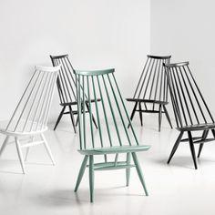 Mademoiselle tuoli, salvianvihreä | Artek