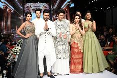 Surmounting fashionable stereo-typed Men monotones from a standard – staple - light-coloured Sherwani to an exclusively-aesthetic (one-of-its-kind) hue, top-of-the-line duo Fashion Designers BHARAT & RESHMA GROVER presented Indianism via its fashion-design label|brand 'H2 Bharat Reshma' the Contemporary conduit. #trending #fashion #design #fashionista #celebs #ramp #fashionshow