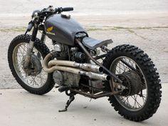 Honda 1971 CB350 rigid Meatgrinder Project