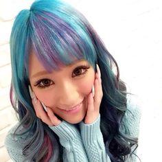 hair_ISM @hair_ism blue×purpleby mo...Instagram photo | Websta (Webstagram)