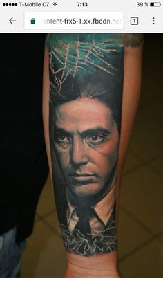 Tattoo Al Pacino
