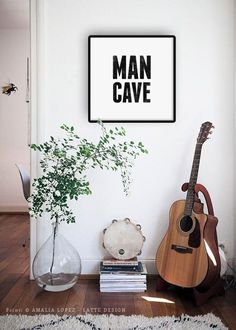 Man cave print typography print gift for him fathers day gift image 1 Presents For Him, Fathers Day Presents, Gifts For Father, Gifts For Husband, Gifts For Boys, Daddy Gifts, Mother's Day Diy, Typography Prints, Craft Stick Crafts
