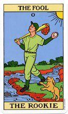 Tarot of Baseball, The Fool Tarot Major Arcana, Tarot Learning, Cartomancy, Divine Light, Dating Again, Ouija, I Love You All, Oracle Cards, Tarot Decks