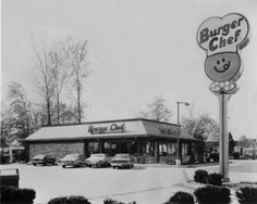 This is the Indy Burger Chef where my hubby worked when we were in high school.