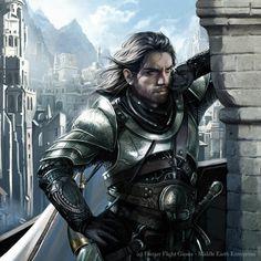 Magali Villeneuve Portfolio: The Lord of the Rings LCG : Boromir