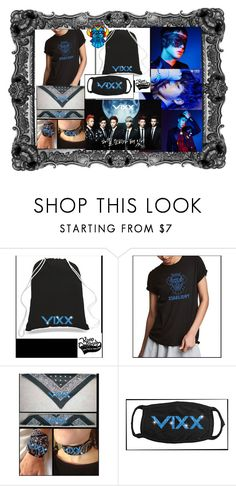 """""""VIXX Rovix Starlight KPOP GROUP"""" by bee4735 on Polyvore featuring GUESS and KPOPORIGINALS"""