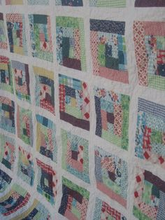 Idea: how about a cupcake in the middle and build the theme around it; log cabin quilt