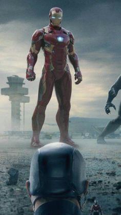 Iron Man and Captain America. Marvel Comics, Marvel Heroes, Civil War 2 Marvel, Marvel Avengers, Avengers Movies, Marvel Characters, Iron Man Fan Art, Best Avenger, Iron Man Tony Stark