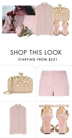 """""""Untitled #125"""" by magical-muse ❤ liked on Polyvore featuring Elie Saab, RED Valentino, Burberry, Dolce&Gabbana and Tacori"""