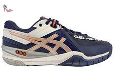 Gel-Flux 5, Chaussures de Running Homme, Multicolore (Directoire Blueblacksafety Yellow), 41.5 EUAsics