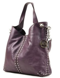 Michael Kors 'Uptown Astor' Leather Large Chain Shoulder Tote, Violet Michael Kors http://www.amazon.com/dp/B00J3BMWRQ/ref=cm_sw_r_pi_dp_sHHJtb1RQABE7FX9