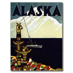Alaskan Cruise Postcards | Zazzle