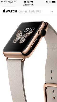 2a89b8f745a Apple watch rose gold • yes please Smart Watch Apple