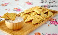 Ev Yapımı Cips Tarifi Snack Recipes, Snacks, Chips, Food And Drink, Bread, Turkish Recipes, Snack Mix Recipes, Appetizer Recipes, Appetizers