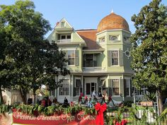 Heritage House, circa 1891, in Riverside,CA. This home is on the Nat'l Historic Register