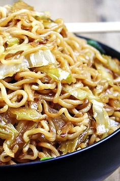 A perfect Panda Express Chow Mein Copycat recipe! The only difference you will find is that it is about half as much oil, so you don't feel so heavy after your meal! dinnerthendessert.com