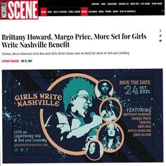 Home / Twitter Brittany Howard, Margo Price, Nashville Events, New Tricks, New Art, Conversation, Writing, Twitter, Being A Writer