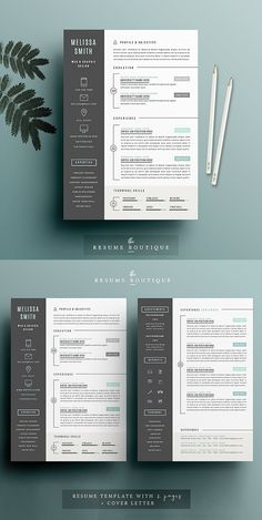Professionally designed CV / Resume Templates for any opportunity and help you to get your job. Simple and clean Resume/CV Template designs are easy to use and Cv Design Template, Resume Design Template, Resume Templates, Graphic Design Resume, Graphic Art, Cv Words, Cv Inspiration, Infographic Resume, Resume Layout