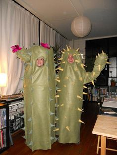 Our Cactus Halloween Costumes This Year!!  Cacti Love  :)