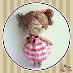 Crochet Dolls Hat Pattern : 1000+ images about magic doll on Pinterest Crochet dolls ...