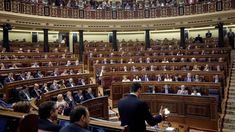 Foto: Imagen de archivo del presidente del Gobierno, Pedro Sánchez, en el hemiciclo del Congreso. (EFE)