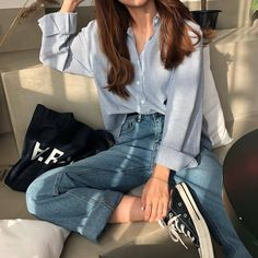 33 Ideas For Womens Fashion Workout Outfits Trend Fashion, Korean Fashion Trends, Winter Fashion Outfits, Look Fashion, Daily Fashion, Retro Fashion, Fashion Models, Girl Fashion, Womens Fashion
