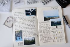 Travelers Notebook - documenting summer adventures Read at : diyavdiy.blogspot.com