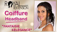 Tuto Coiffure : Changez de look avec les Headbands By Royal Extension