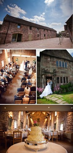 Set on a private estate overlooking a large lake, The Ashes is a barn wedding venue on the edge of the Peak District National Park. The setting is truly breathtaking and the exquisitely restored barns are elegant while maintaining their rustic appeal. Wedding Venues West Midlands, Rustic Wedding Venues, Wedding Locations, Wedding Barns, Barn Weddings, Wedding Receptions, Cat Wedding, Dream Wedding, Wedding Ideas