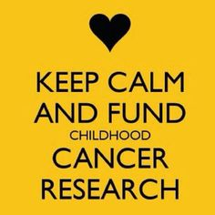 Childhood cancer awareness day 2/15