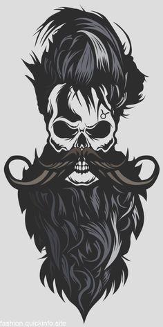 Tee-shirt tete de mort hipster crane skull barbu - My Fashion World 2019 Black Phone Wallpaper, Skull Wallpaper, Marvel Wallpaper, Wallpaper App, Cool Art Drawings, Pencil Art Drawings, Airbrush Skull, Vegito Y Gogeta, Beard Logo