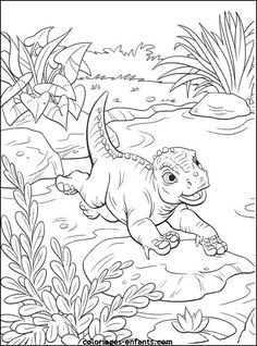 Disney Dinosaur Coloring Pages Zombies For Kids Animals Nosaur Color - Coloring Page Ideas Boy Coloring, Colouring Pics, Disney Coloring Pages, Coloring Book Pages, Printable Coloring Pages, Coloring Pages For Kids, Free Coloring, Dinosaur Coloring Sheets, Disney Dinosaur