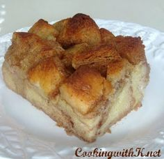 Very Simplistic Bread Pudding very easy and very good oh so good!!