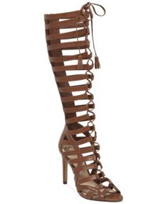 Vince Camuto Olivian Tall Lace-Up Gladiator Sandals Women's Shoes size 10