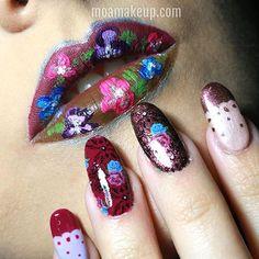 Lips & Nails Esmaltes: Colección Velvet Dream de @orly.spain.portugal #nails #uñas #makeup #maquillaje #orly #lips #maquilladoraelche